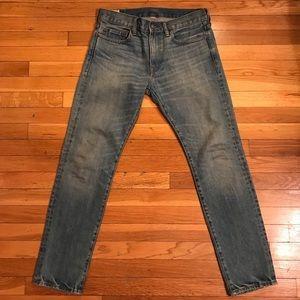 Mens J.Crew Light Washed Jeans (484 FIT)